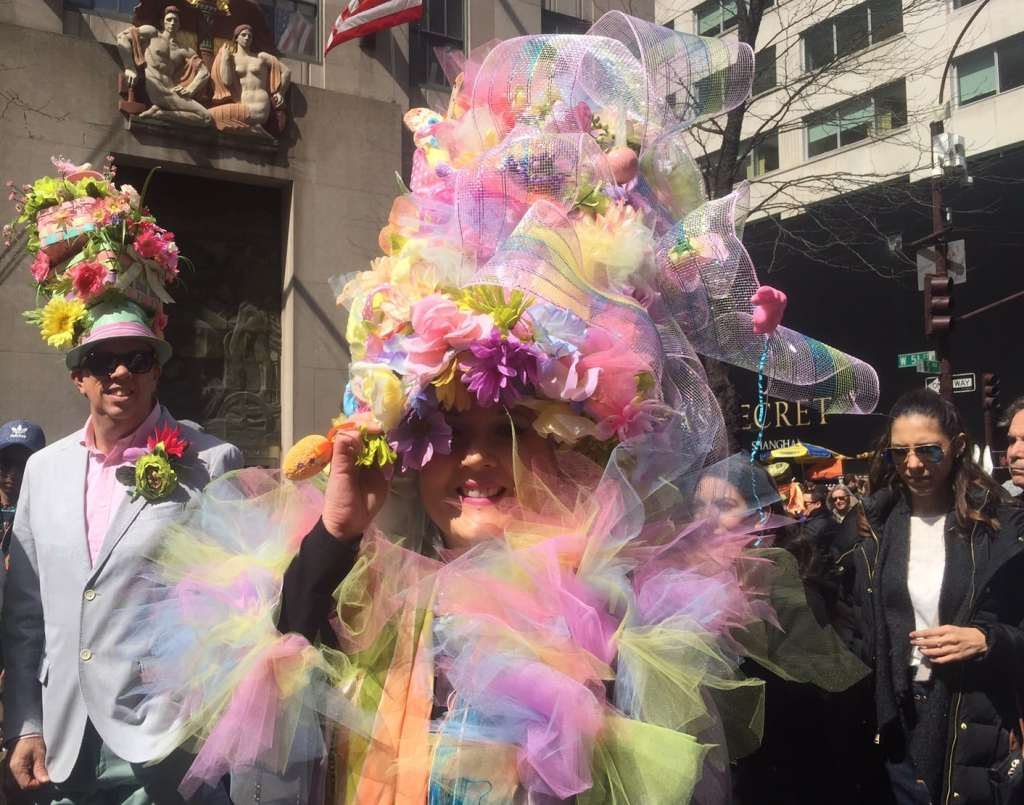 Lots of pastel, perfect for Easter. - Easter Bonnet Pictures - Two Traveling Texans