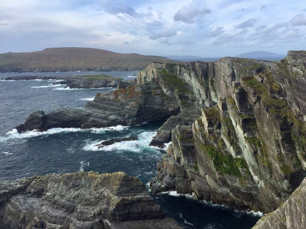 """I was pretty impressed with the Kerry Cliffs!- """"Why You Must Do the Ring of Kerry at Least Once in Your Lifetime"""" - Two Traveling Texans"""