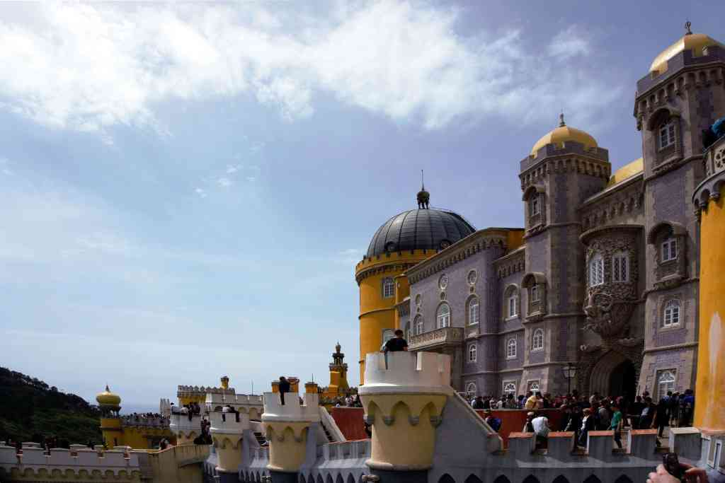 """Fairy Tale Castle Pictures - Plenty to explore on your visit to Pena Palace. - """"Pena Palace: Sintra's Fairytale Castle"""" - Two Traveling Texans"""