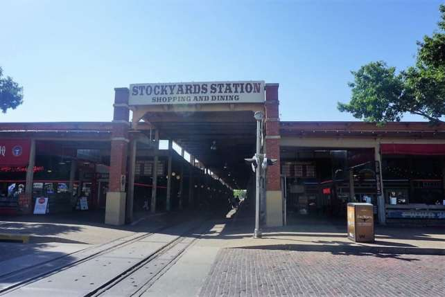 """Stockyards Station is now full of shops, restaurants, and event space, but still stays true to its history. - """"Fort Worth Stockyards: Learn About the Old West"""" - Two Traveling Texans"""