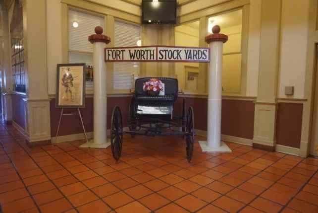"""Inside the Livestock Exchange Building. - """"Fort Worth Stockyards: Learn About the Old West"""" - Two Traveling Texans"""