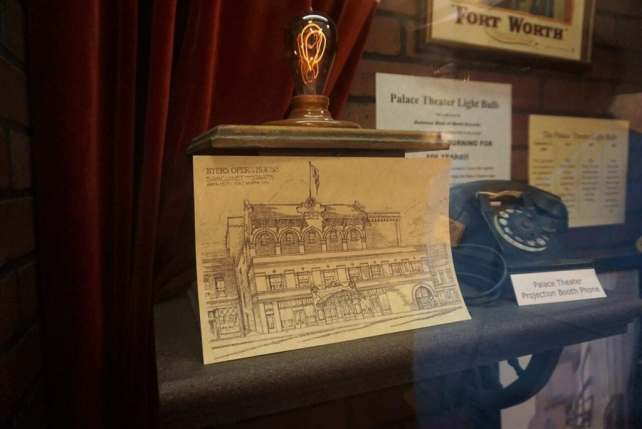 """This lightbulb is trying to get in the Guinness Book of World Records! - - """"Fort Worth Stockyards: Learn About the Old West"""" - Two Traveling Texans"""