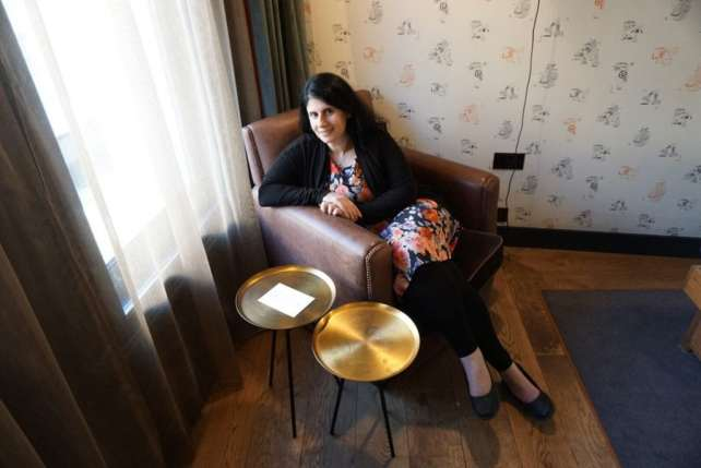 Anisa at the Hoxton Hotel in London - 8 Ways to Maximize Amazon Prime Benefits for Travelers - Two Traveling Texans
