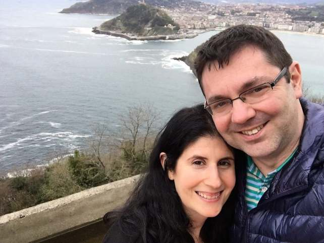 """Anisa and Russell in San Sebastian - """"Moving To England: How and Why I Did It!"""" - Two Traveling Texans"""