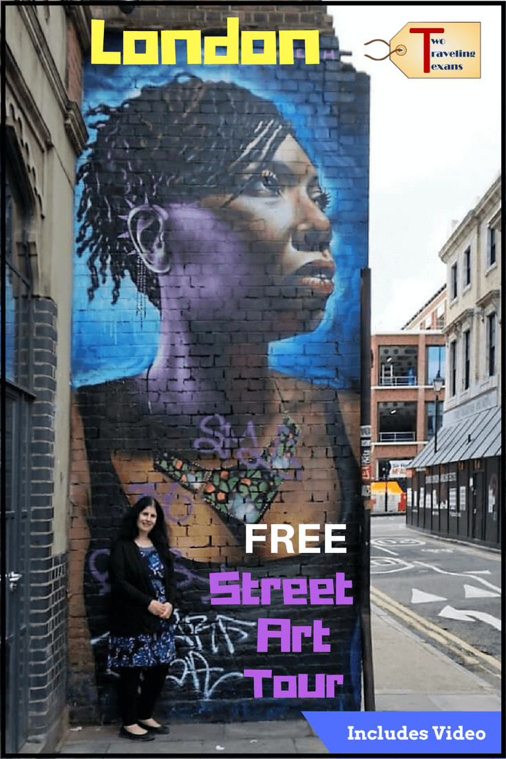 Want to see some of the best street art in London? Get all the details on Strawberry Tours' Free Shoreditch Street Art Tour Includes video via @2travelingtxns #streetart #londonstreetart #londonengland #shoreditchstreetarttour #shoreditchmurals #vlog #beststreetartinlondon #strawberrytours