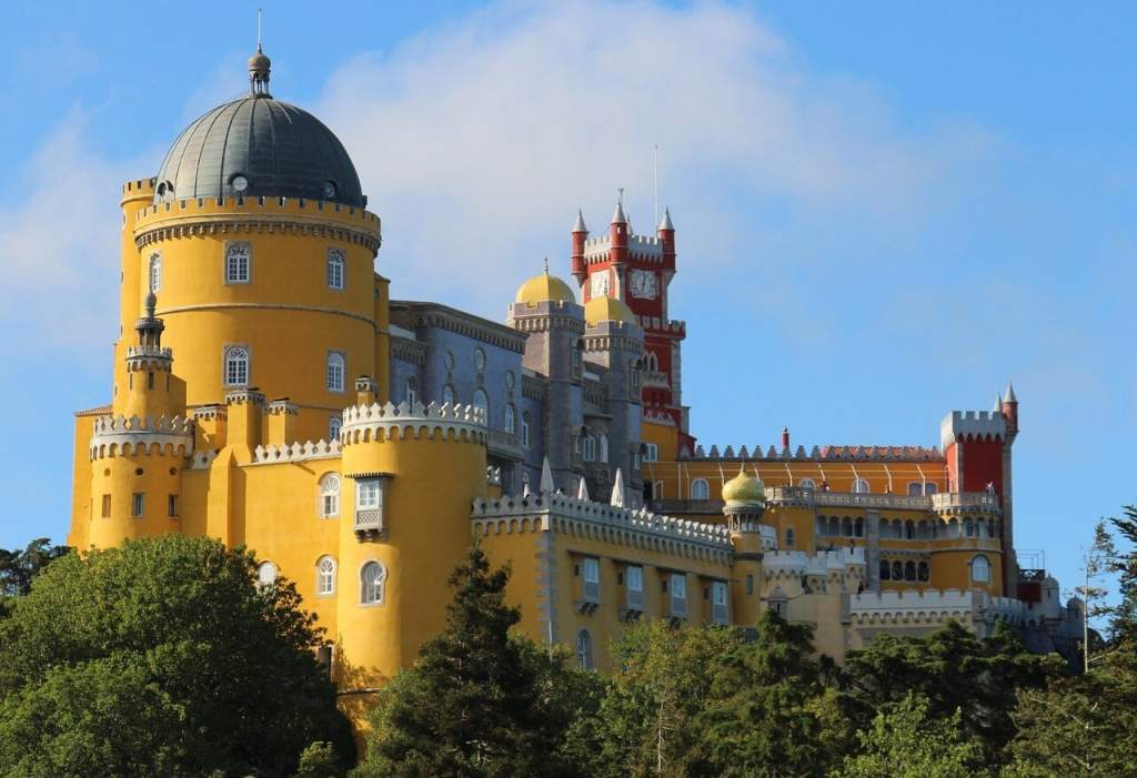 """Pena Palace is one of the highlights in Sintra- """"Our Amazing Portugal Road Trip Itinerary"""" - Two Traveling Texans"""