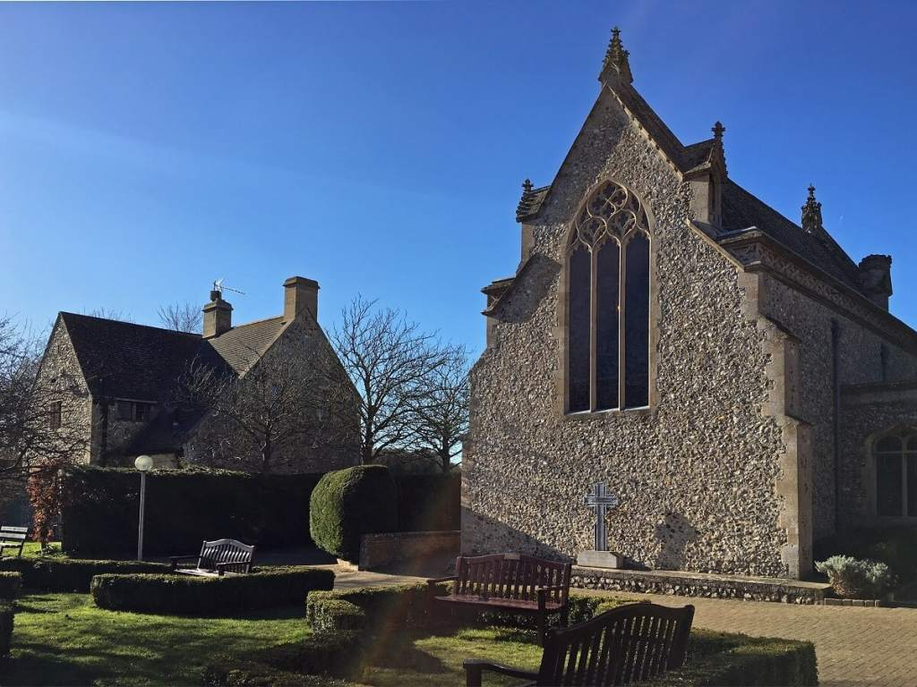 """The Slipper Chapel is small but significant. - """"Walsingham Pilgrimage and Snowdrops"""" - Two Traveling Texans -"""