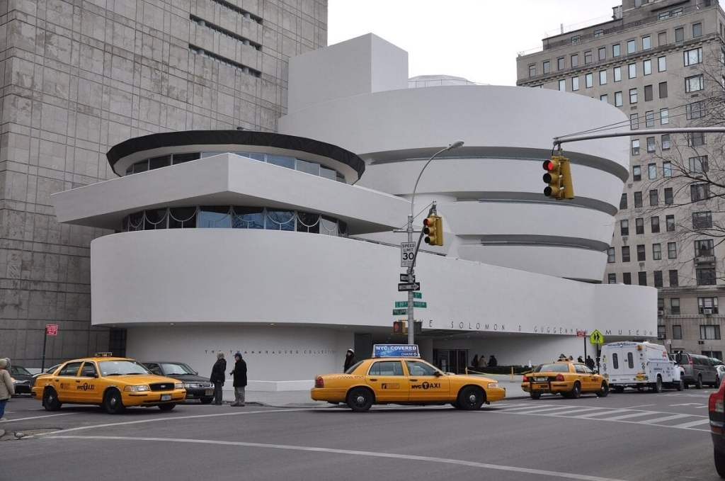 The Guggenheim Museum was designed by Frank Lloyd Wright and is included with the NY Pass. - Is the NY Pass Worth It? - Two Traveling Texans