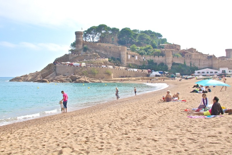 Tossa de Mar has a beautiful beach, walled medieval town, and more! - The Best Day Trips from Barcelona