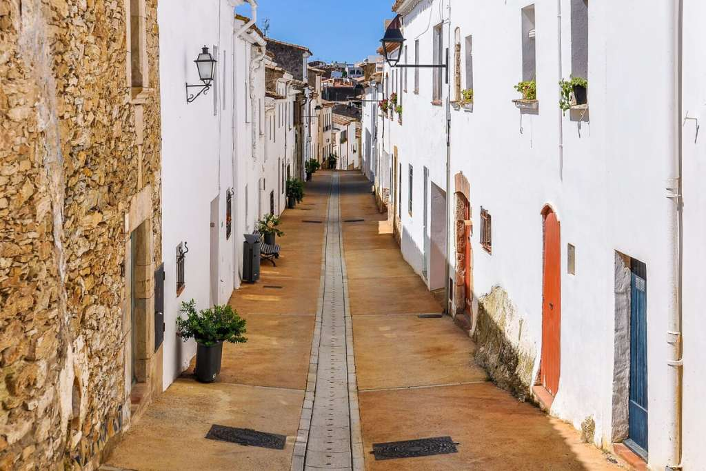The white streets of Begur are so picturesque. - The Best Day Trips from Barcelona