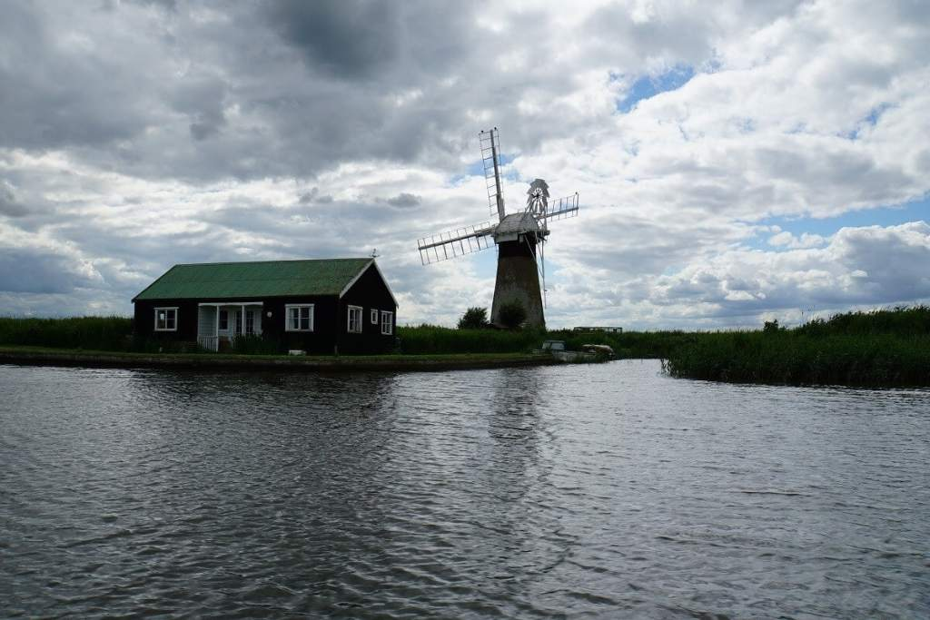 """Another windpump, there are many on the Broads! - """"Hire a Boat on the Norfolk Broads"""" - Two Traveling Texans"""