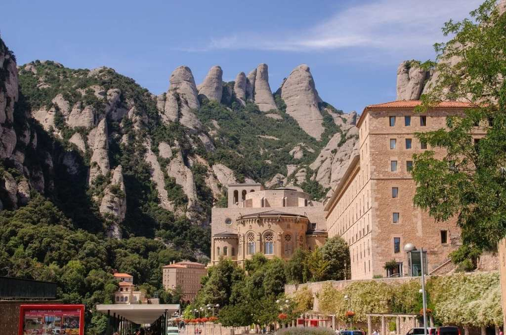 The famous Monastery is located high in the Montserrat mountains. - The Best Day Trips From Barcelona