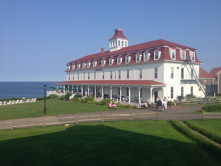 """The Spring House Hotel - """"Block Island Ferry and Travel Guide"""" - Two Traveling Texans"""