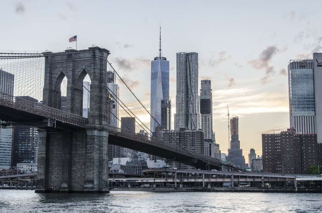 """Walk across the East River on the Brooklyn Bridge if the weather is nice. - """"Tips for Visiting New York City For the First Time"""" - Two Traveling Texans"""