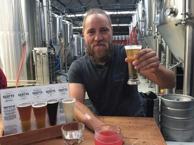 Cheers! Scotts Brewery