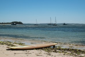 Stand up padeling in Nelson Bay