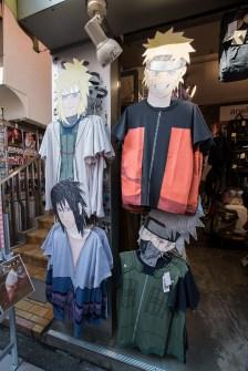 Naruto T-Shirts in Harajuku