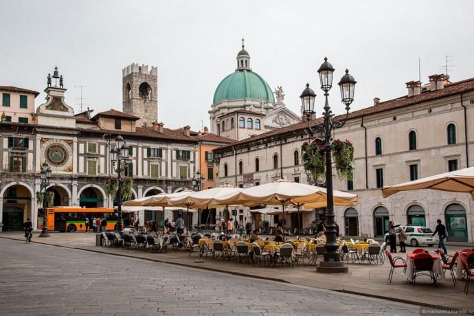 principais cidades da Itália Brescia