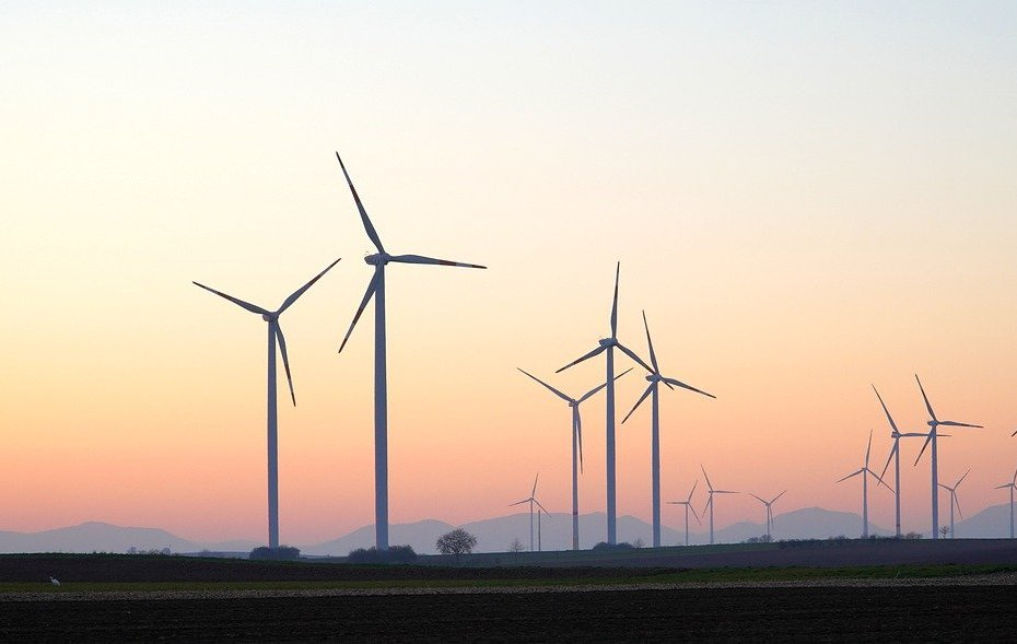 Wind Energy at Dusk