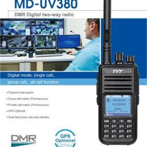 2019 Baofeng DM-860 Digital Walkie Talkie DMR Tier1 Tier2