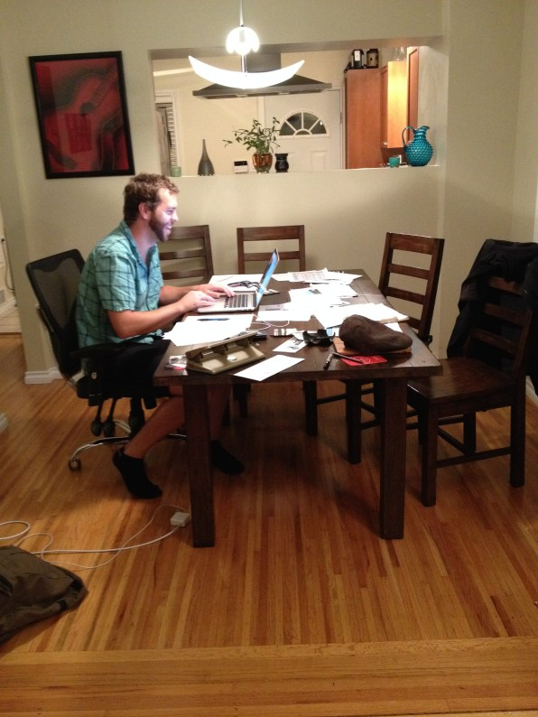 How We Started - The Kitchen Table Office
