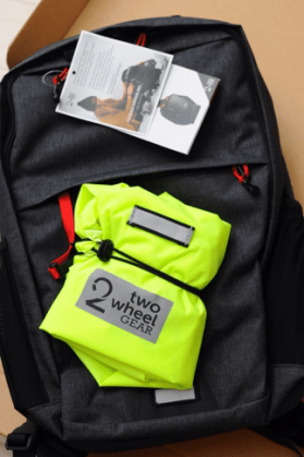 Pannier Backpack and Rain Cover