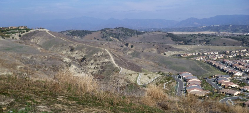 The alternate descent into Sendero, which I did not take.