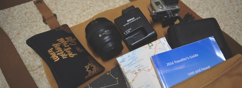 What's in my Sightseeing Bag?