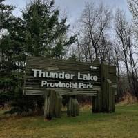 Camping at Thunder Lake Provincial Park