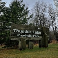 Camping at Thunder Lake Provincial Park