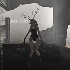happyface --- Solstice Antlers - Bacchus