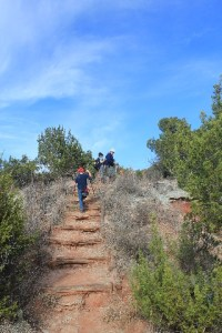 Copper Breaks State Park - Juniper Ridge Nature Trail - up again
