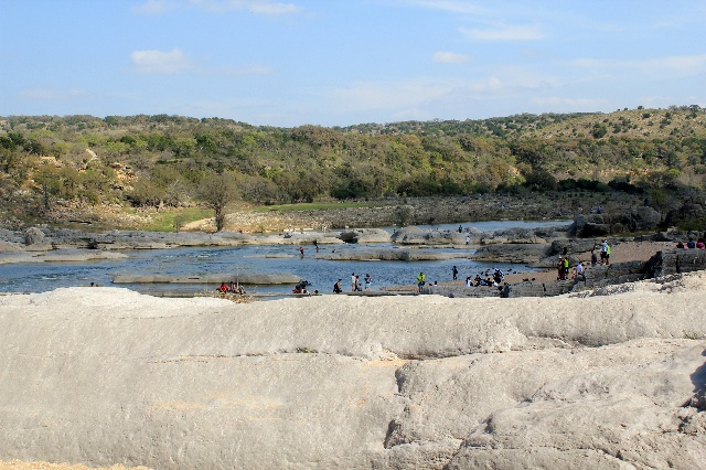 Potholes at Pedernales State Park: family fun: Two Worlds Treasures
