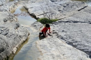 Potholes at Pedernales State Park: water fun never enough: Two Worlds Treasures