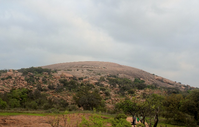 Enchanted Rock - from observation deck - Two Worlds Treasures