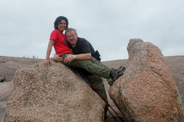Enchanted Rock - just the two of us - Two Worlds Treasures