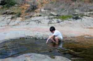 Devil's Hole at Inks Lake SP - small opening - Two Worlds Treasures