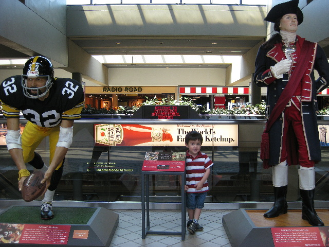 Steelers - You're in Steelers Country - Pittsburgh Intl. Airport - Two Worlds Treasures
