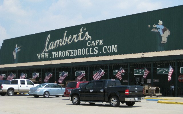 Lambert S Cafe Home Of Throwed Rolls Two Worlds Treasures
