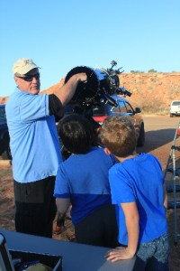 Questions for the profesionnal stargazer during Constellations at the Canyon ranger program at Caprock Canyons SP, TX.