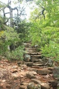 Wichita Mountains Wildlife Refuge: Elk Mountains Trail.