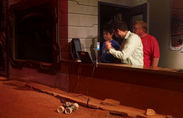 Colorado One Week Unplanned Trip: Mars Robotics Class at Space Foundation, Colorado Springs.