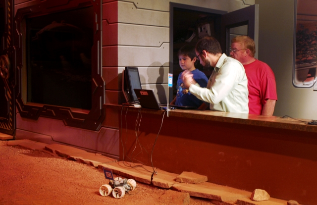 Space Foundation Discovery Center: complete a mission on Martian terrain.
