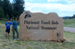 Colorado One Week Unplanned Trip: a visit to Florissant Fossil Beds NM.