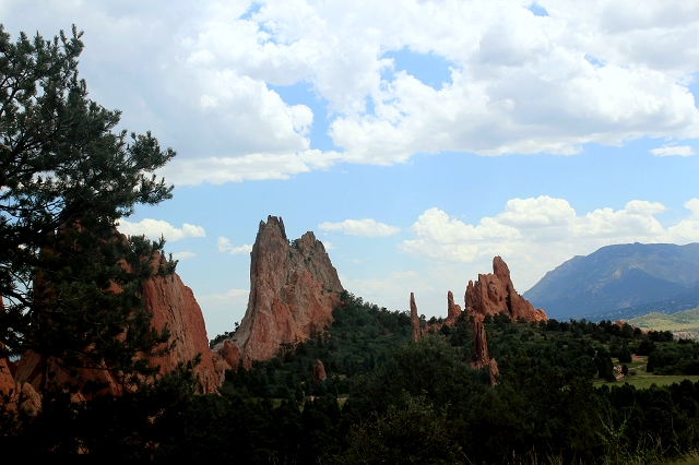 Colorado One Week Unplanned Trip: Garden of The Gods, Colorado Springs.