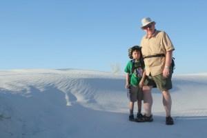 White Sands National Monument - before Sunset Stroll.