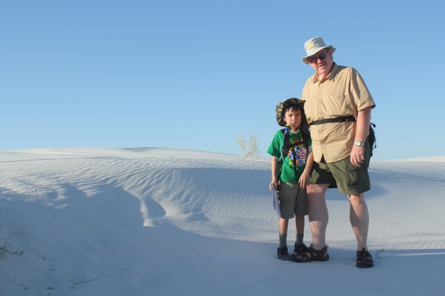White Sands National Monument - before Sunset Stroll.