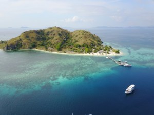 Two Worlds Treasures - Kanawa from the top, Labuan Bajo, Flores, Indonesia.