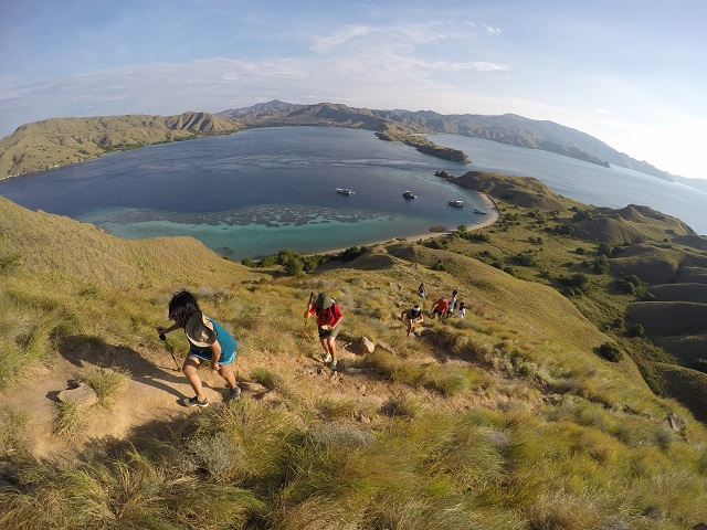 Two Worlds Treasures - Trekking at Gili Lawa, Flores.