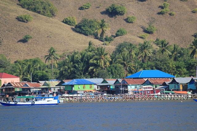 Two Worlds Treasures - Komodo Village at Komodo Island.